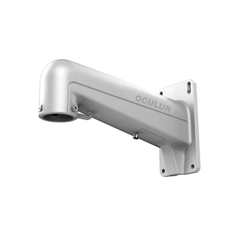 Oculur APTZ-WM Wall Mount Bracket for PTZ Camera – White Aluminum Alloy