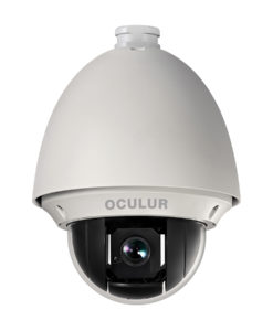 Oculur CPTZ-23 2.1MP PTZ Dome Outdoor HD-TVI Security Camera