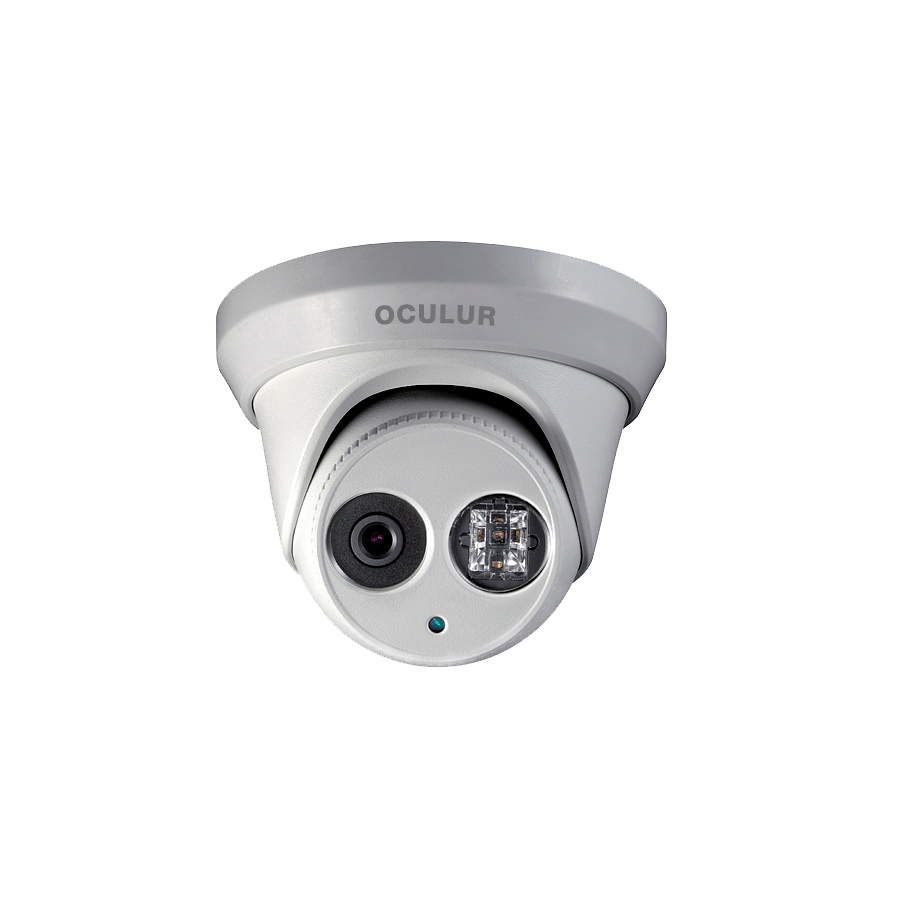 Oculur X2TF 2MP Turret Dome Fixed IR Outdoor IP Security Camera