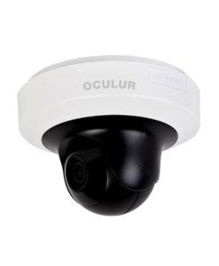 Oculur X4PT 4MP Mini P/T Dome Fixed IR Wi-Fi Indoor IP Security Camera – IR up to 33ft