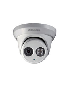 Oculur X4TF 4MP Turret Dome Fixed Outdoor IP Security Camera IR up to 100ft