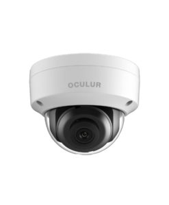 Oculur X4KDF 8MP IR Fixed Outdoor H.265+ Dome IP Network Security Camera